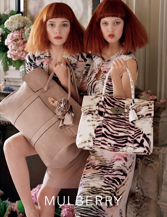 2dea4ad216b7 Mulberry Spring Summer 2011 campaign