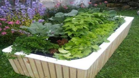 Alte Badewanne Als Hochbeet Oder Kleinstgarten Frag Mutti Alte Badewanne Badewanne Garten Kleiner Garten