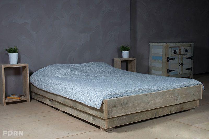 Bauholz Bett I Einzel- und Doppelbetten aus Bauholz Küche - wohnideen wohnzimmer holz