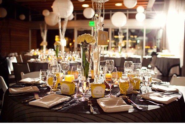 yellow wedding table - Google Search | Yellow Wedding | Pinterest ...