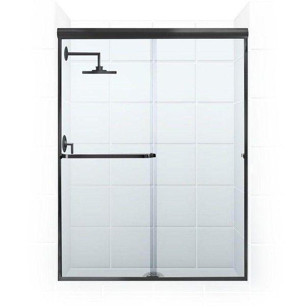Paragon 3 16 B Series 52 Inch X 65 Inch Frameless Sliding Shower