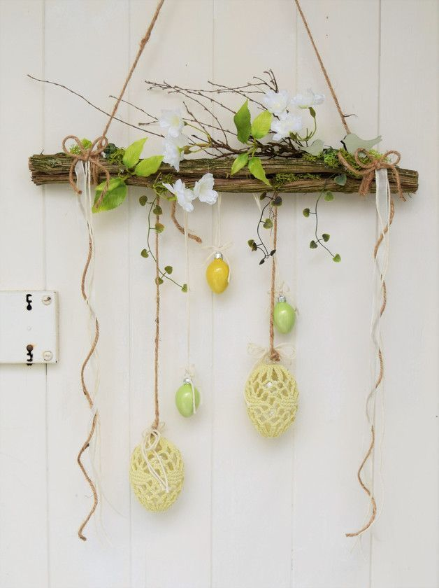Window Hanger Easter Decorative Objects Home Accessories Handmade with love in Wiesbaden Germany by Sotilala