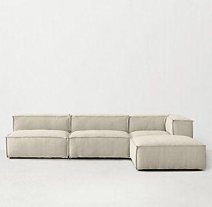 Miraculous Rh Teens Rowan Modular Sectional Lounge Couch In 2019 Creativecarmelina Interior Chair Design Creativecarmelinacom