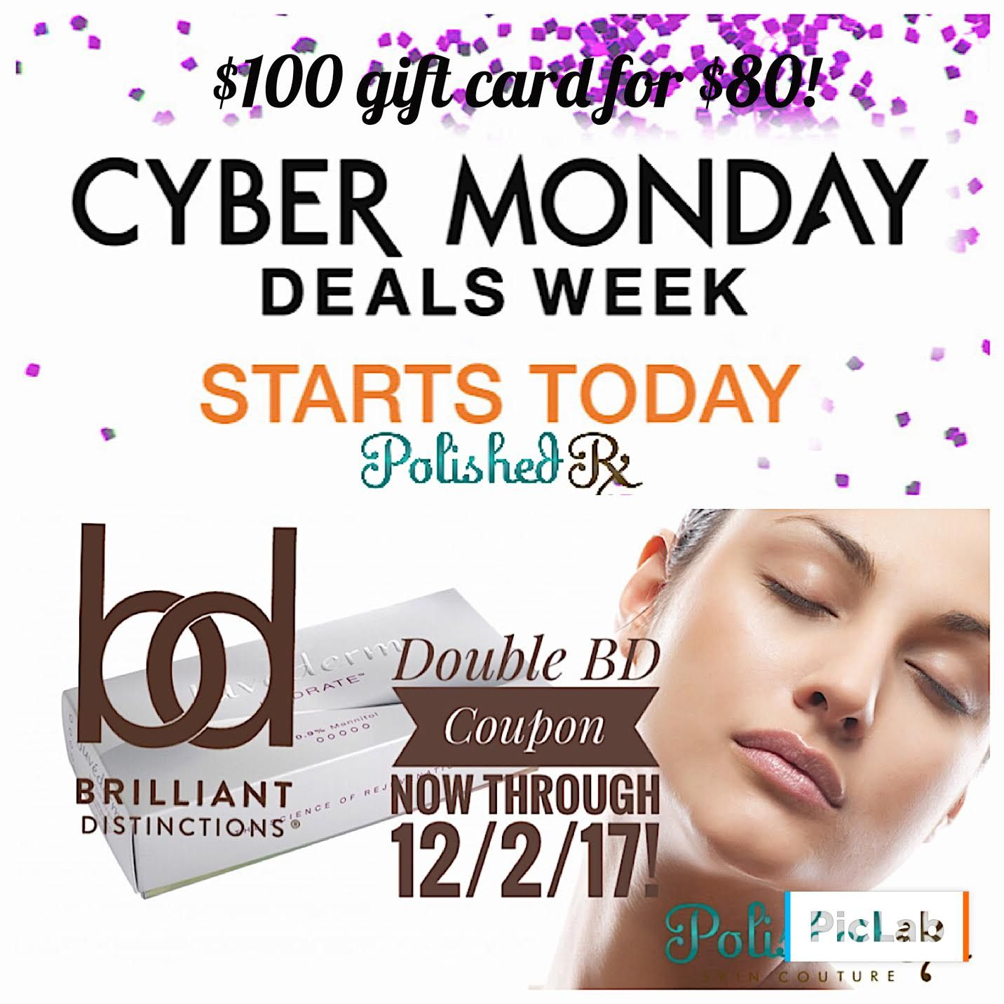 Holidays are coming! $100 Gift Card for ONLY $80!* Get up to