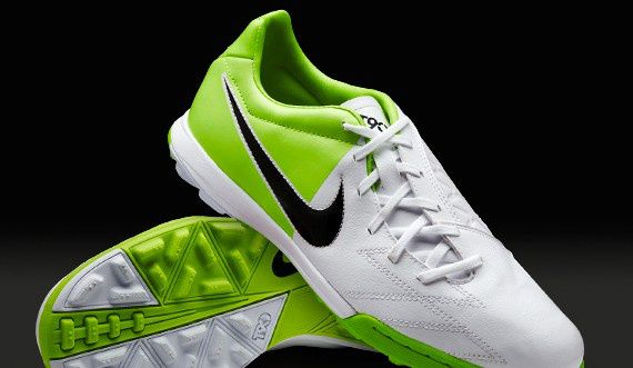 Nike T90 EURO 2012-2013 TF White Grass Green  8c4753565c35
