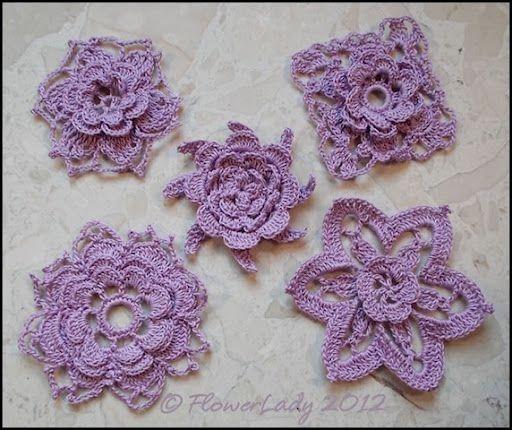 Free Irish Crochet Flower Patterns Yahoo Search Results Ideas