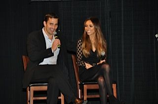 Celebrity speakers - Giuliana and Bill Rancic stopped by in 2011!