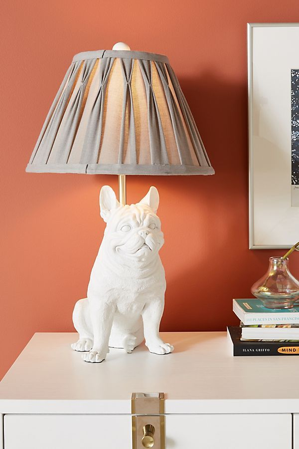 Frank the Frenchie Table Lamp Lamp, Table lamp, Unique