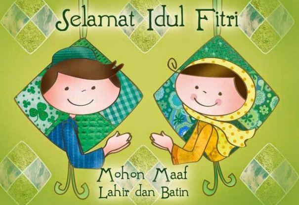 Ucapan Selamat Hari Raya Idul Fitri 2016 Minal Aidin Wal Faidzin Rancah Post Idul Fitri Ilustrasi Kartu Ucapan Kartu