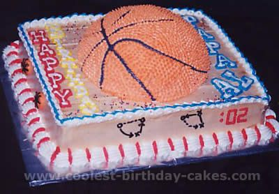 Coolest Basketball Cake Designs and Decorating Tips Birthday cake