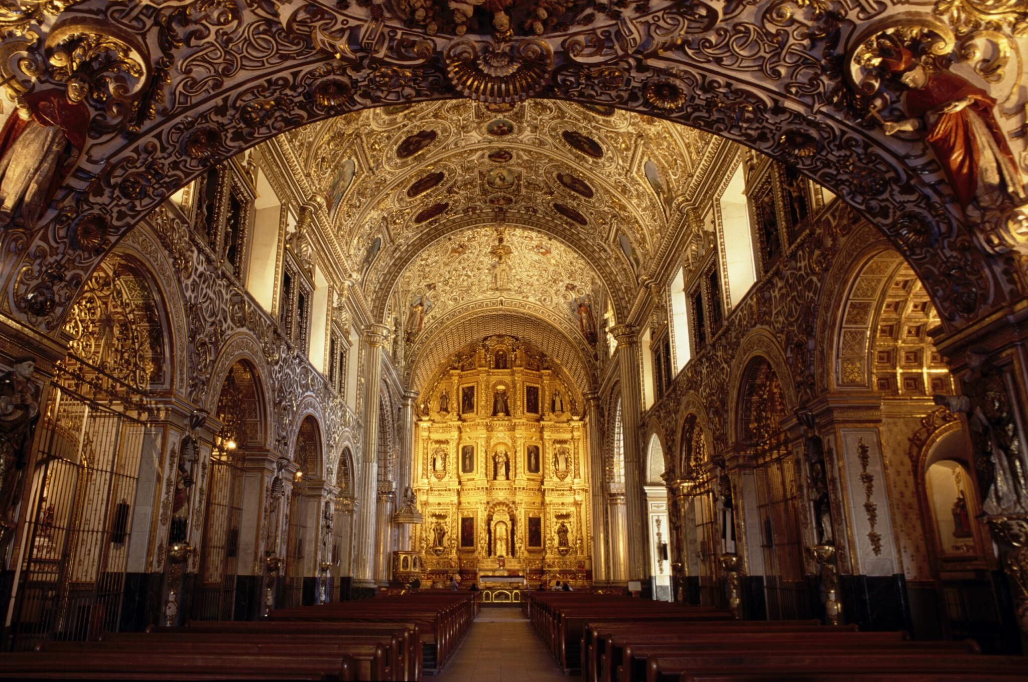 Iglesia barroca de santo domingo de guzm n en oaxaca for Que es arte arquitectura