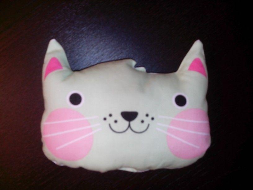Infantil:cojin gato
