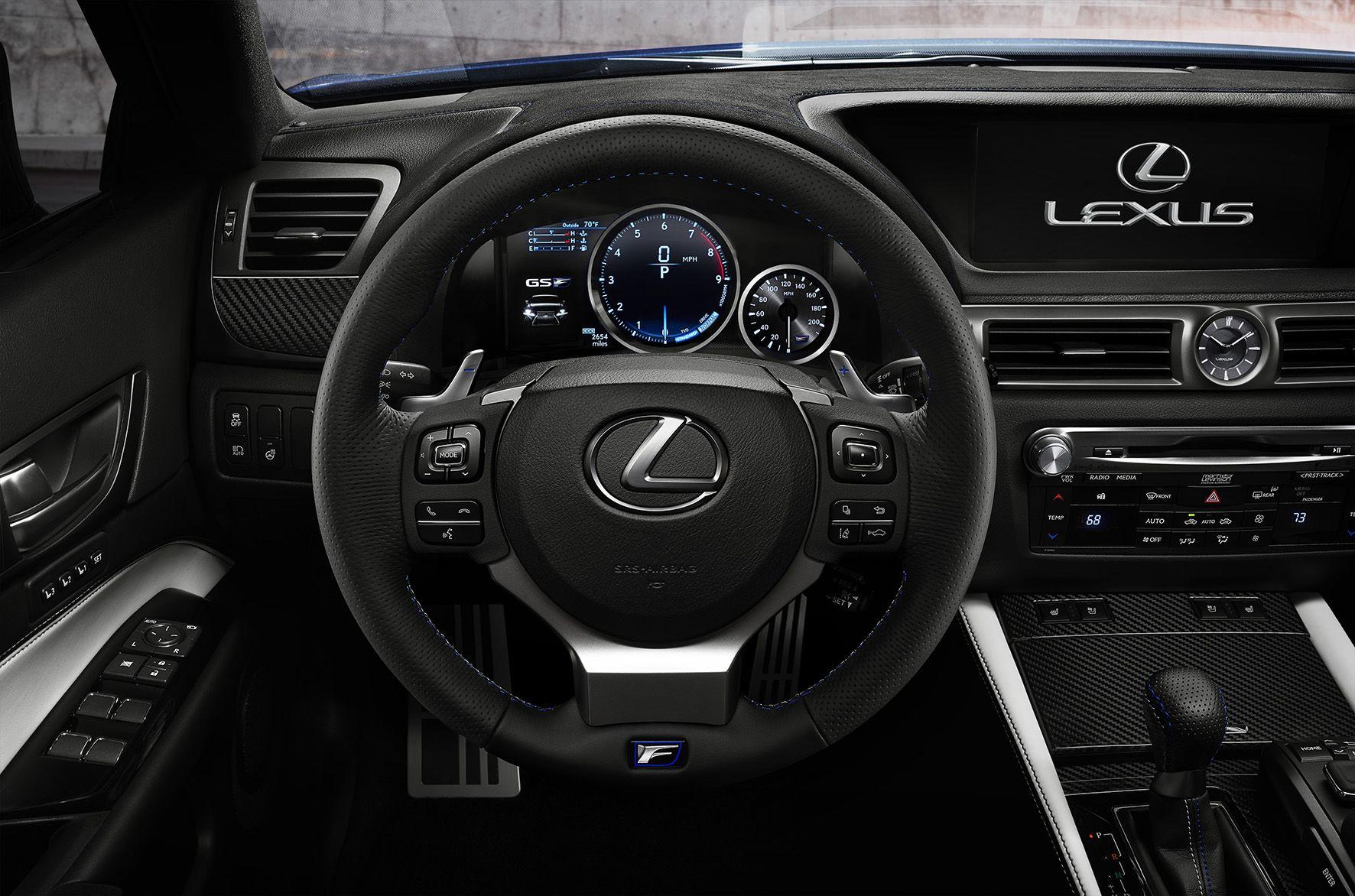 Geboren in de groene hel: Lexus GS F