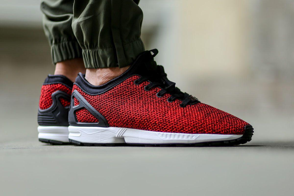 adidas ZX Flux NPS 'Net & Mesh' Scarlet - EU Kicks: Sneaker Magazine