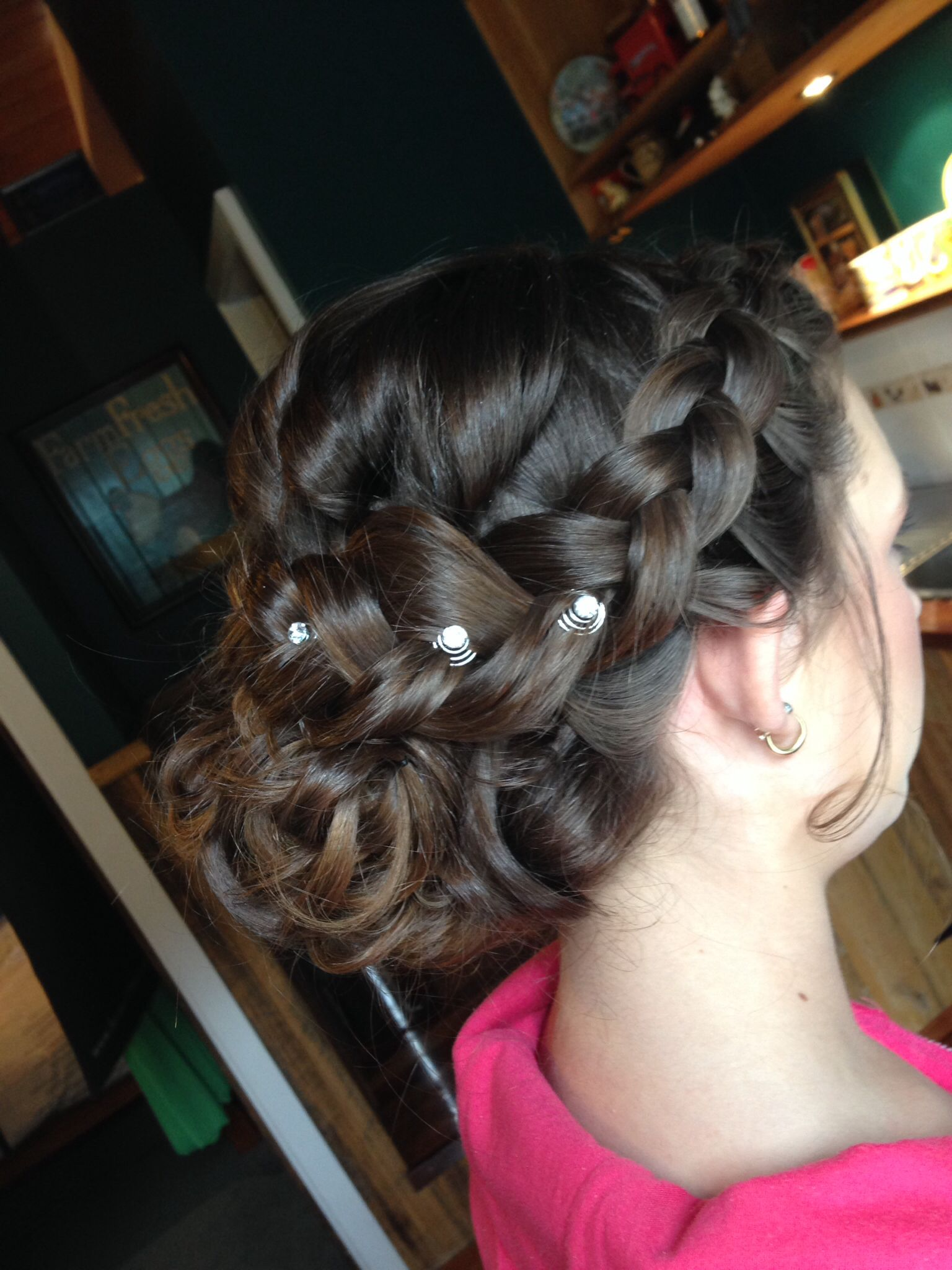Braids Plaits Curls Perfect Junior Bridesmaid Hair Styled By Nicole Whitty Junior Bridesmaid Hair Bridesmaid Hair Flower Girl Hairstyles
