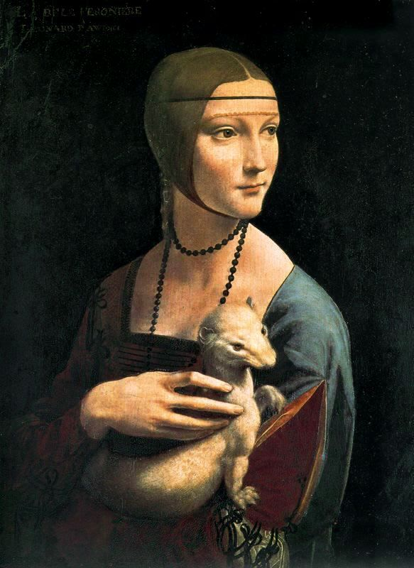 1483-84 Dama con Armiño.