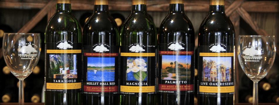 Irvin House Vineyards Charleston Attractions Produce Wine Johns Island