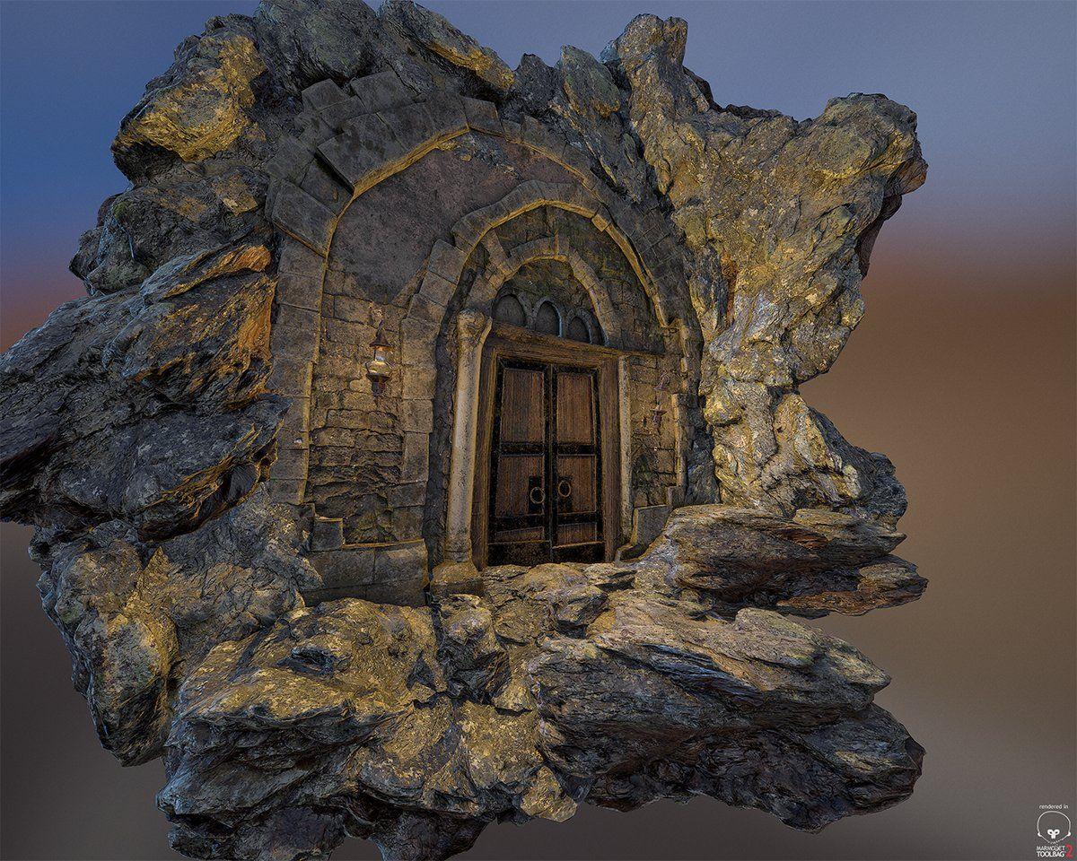 ArtStation - The Dungeon Door Marc Obiols & ArtStation - The Dungeon Door Marc Obiols | Props_HighPoly ...