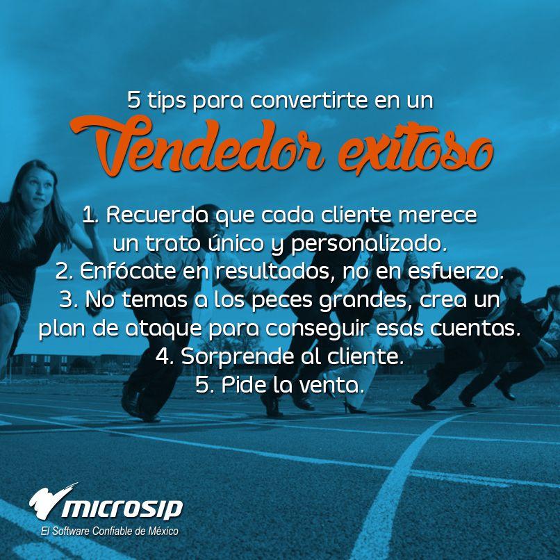 Tipsmicrosip 5 Tips Para Convertirte En Un Vendedor Exitoso