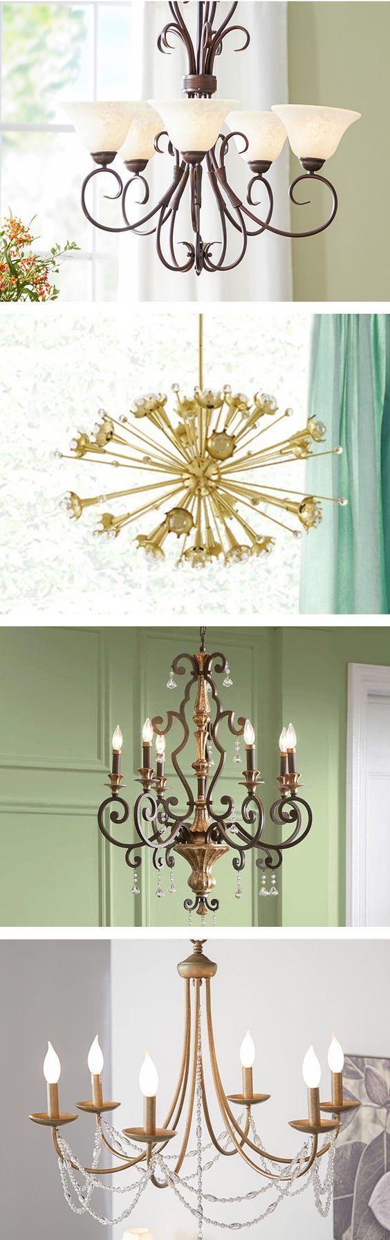 statement lighting. Statement Lighting - Gorgeous Chandeliers #lighting #inspiration