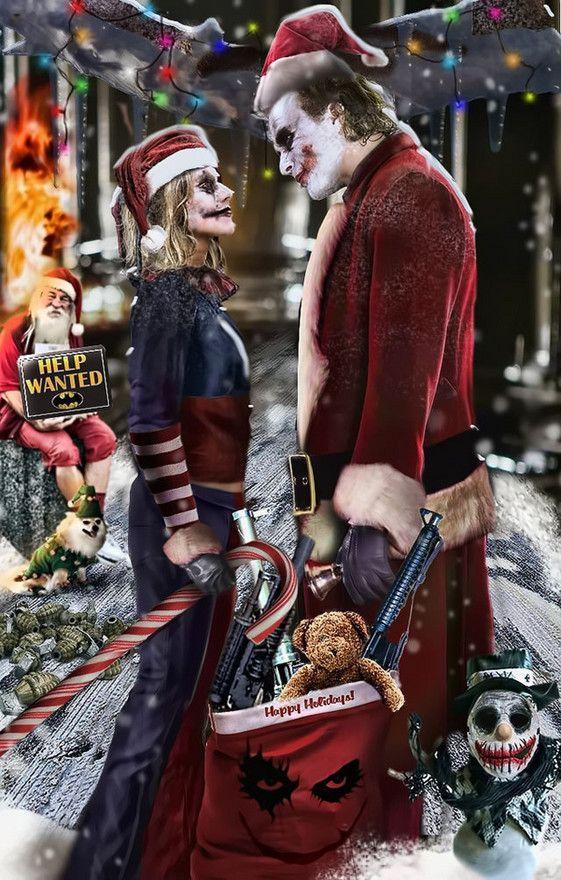Joker Christmas.Pin On Batman Villains