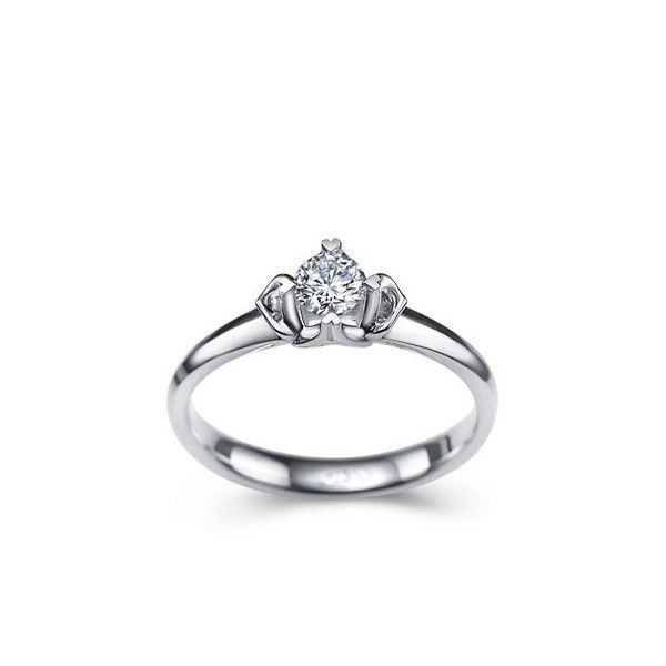 1 5 Carat Diamond Solitaire Engagement Ring On 10k White Gold