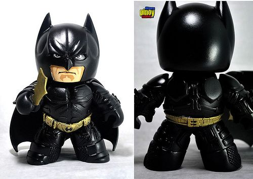The Dark Knight Mighty Muggs by Nico Deacosta