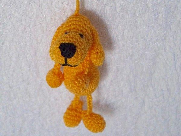 Häkelanleitung Schlüsselanhänger Hund Häkelnstrickennähen