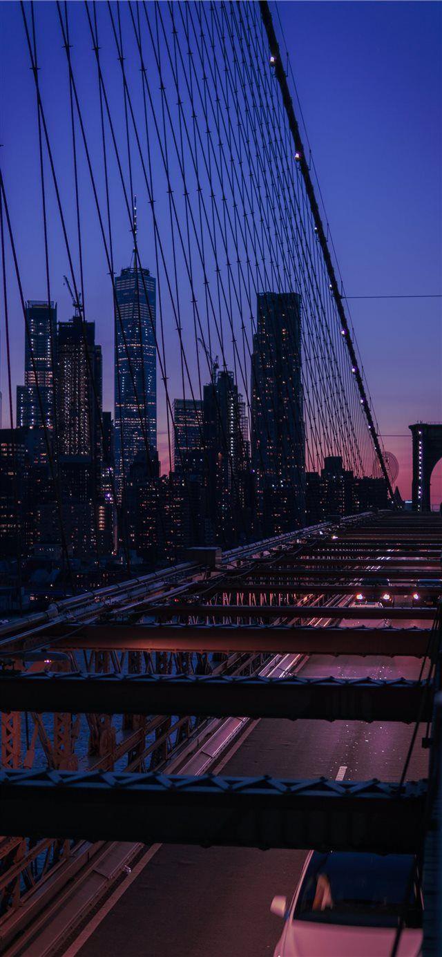 Ilikewallpaper Wallpaper Iphonexwallpaper Brooklyn Bridge
