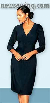 36ce01c362 Un vestido elegante y sencillo que puede llevarse en cualquier ocasión.  Para el trabajo