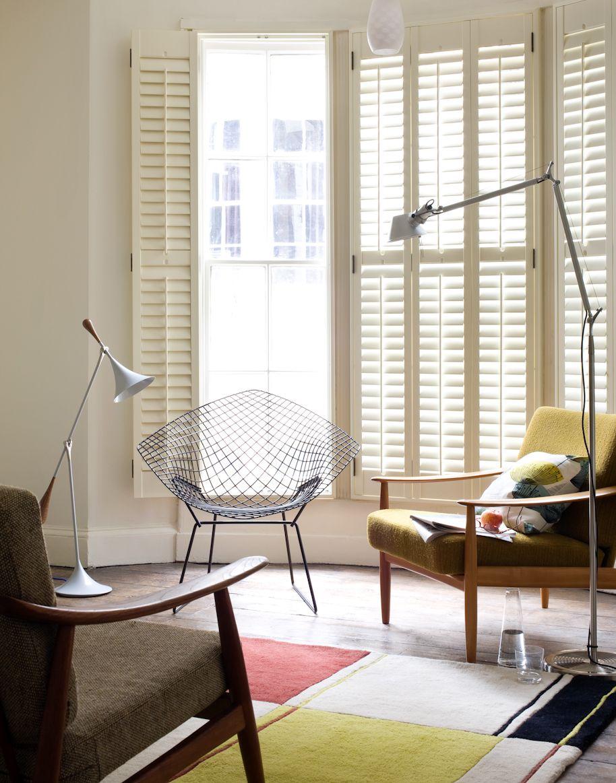 Bertoia diamond and green vintage armchairs Furniture Pinterest