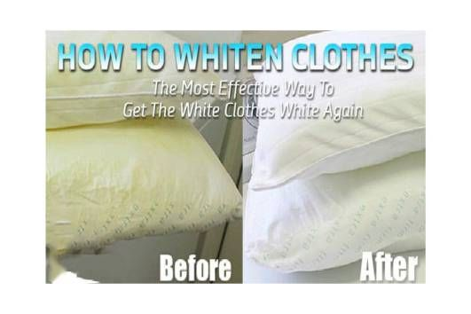 How To Whiten Clothes The Most Effective Way To Make The White
