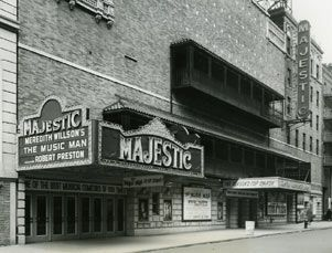 The Majestic Theatre New York City Best Known As Home Of The Phantom Of The Opera Broadway S Longest Running Musica Majestic Theatre Movie Marquee Majestic
