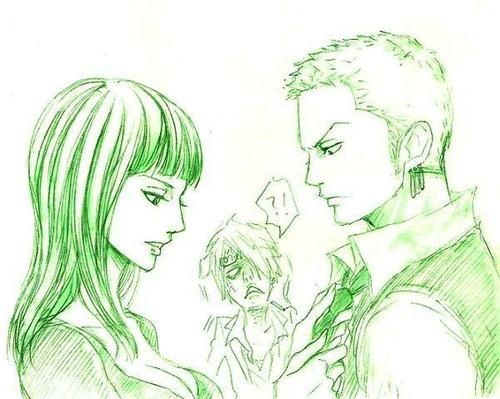 Zoro and Robin #one piece