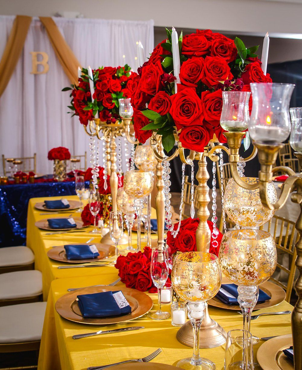 A Beauty and the Beast Inspired Wedding – aprincessinspired.com