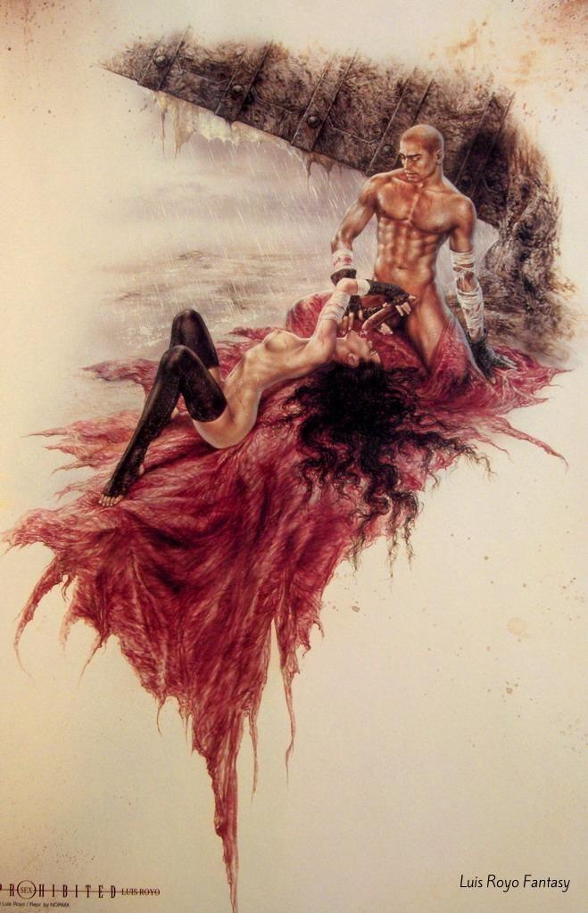 Explicit erotic fantasy
