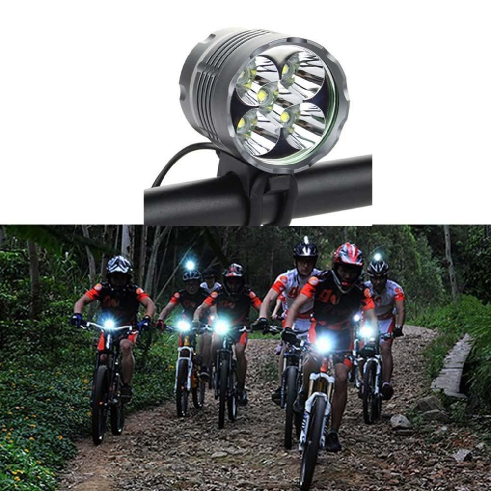 AAA Battery Bike Headlight LED Lamp Bicycle Front Head Light Cycling