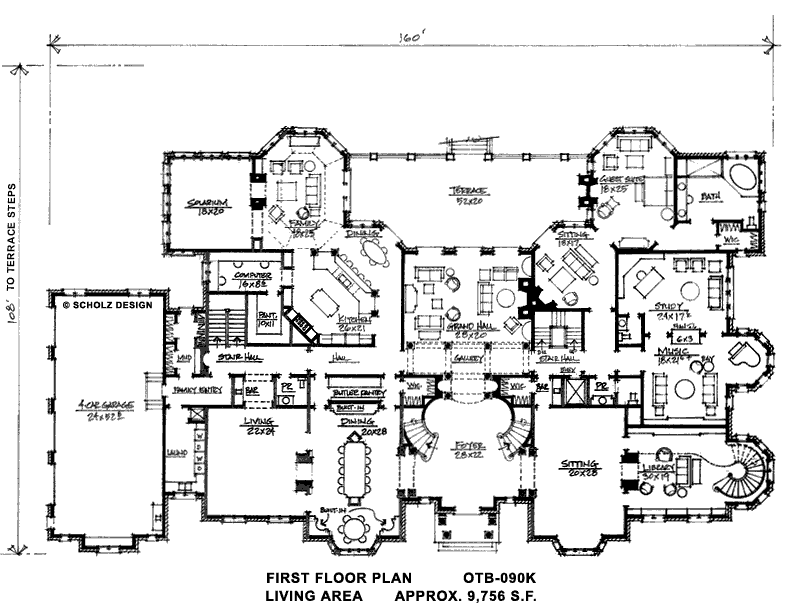 Great Floor Plan Dream Home Floor Plan I D Rework The Study Sitting Room Guest Room Side To Create House Plans Mansion Mansion Floor Plan Dream House Plans