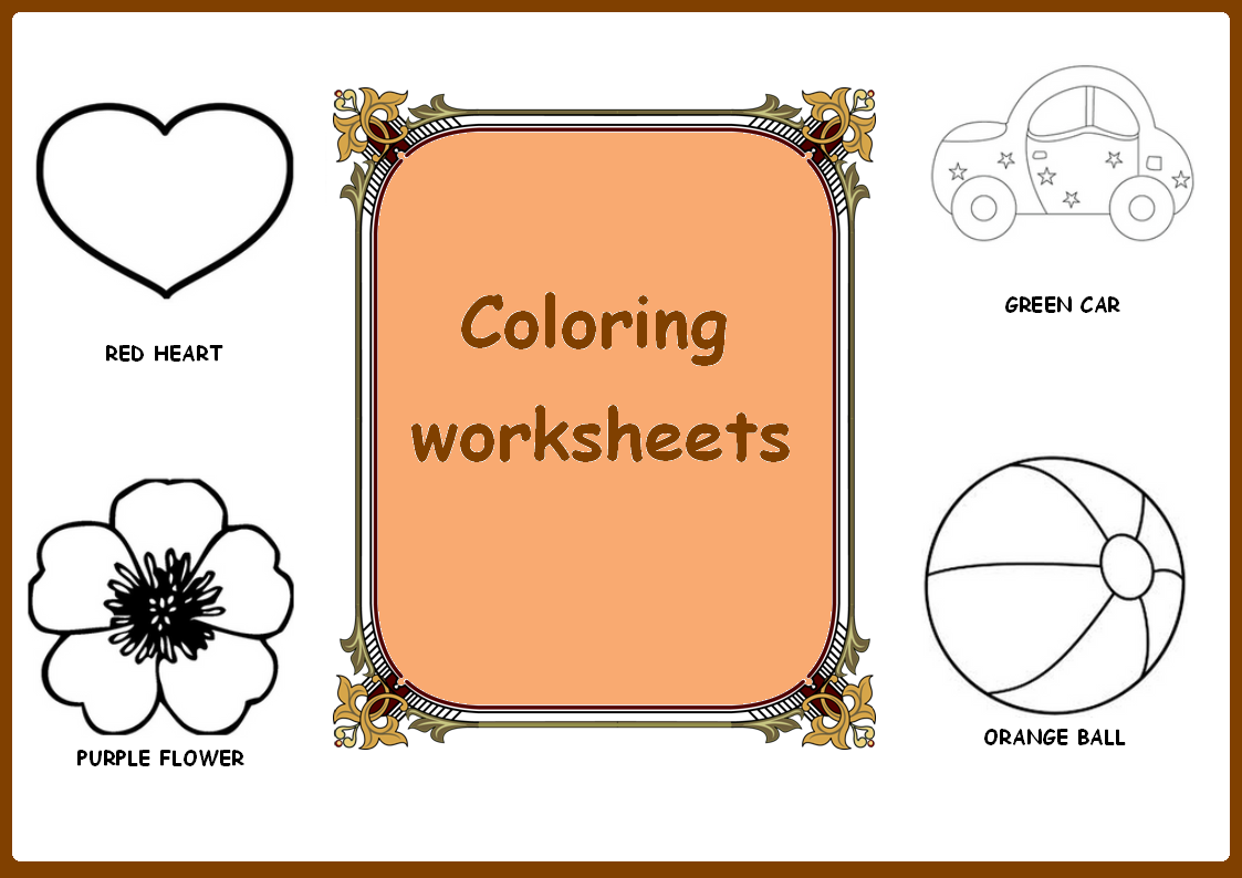 These Coloring Pages Help Teach Pre K K Special