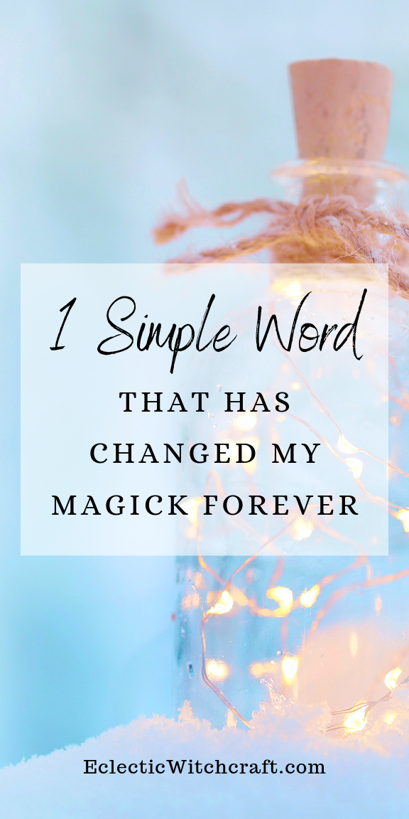This One Ancient Word Will Make You A More Powerful Witch