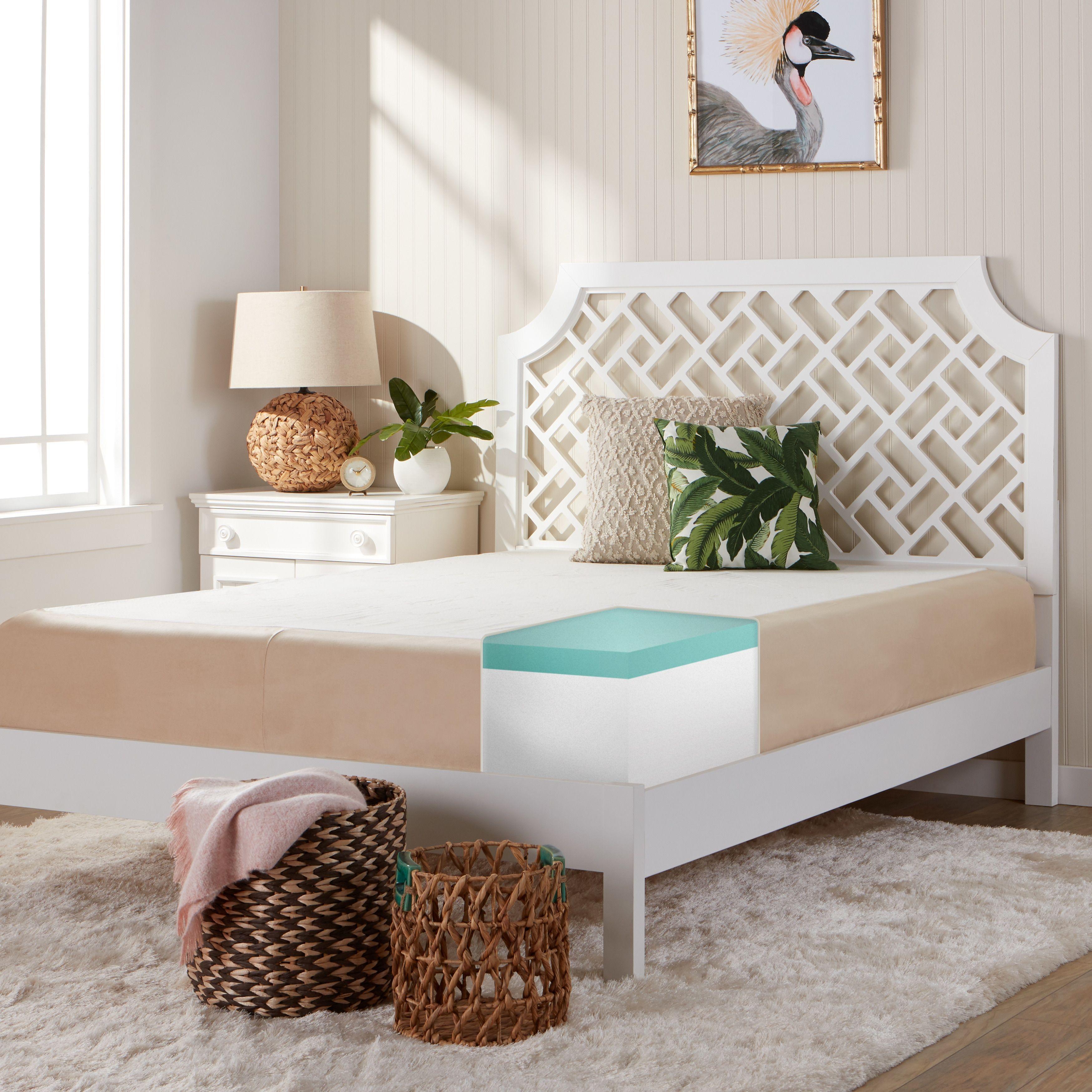 comfort dreams select a firmness gel memory foam 11 inch twin xl