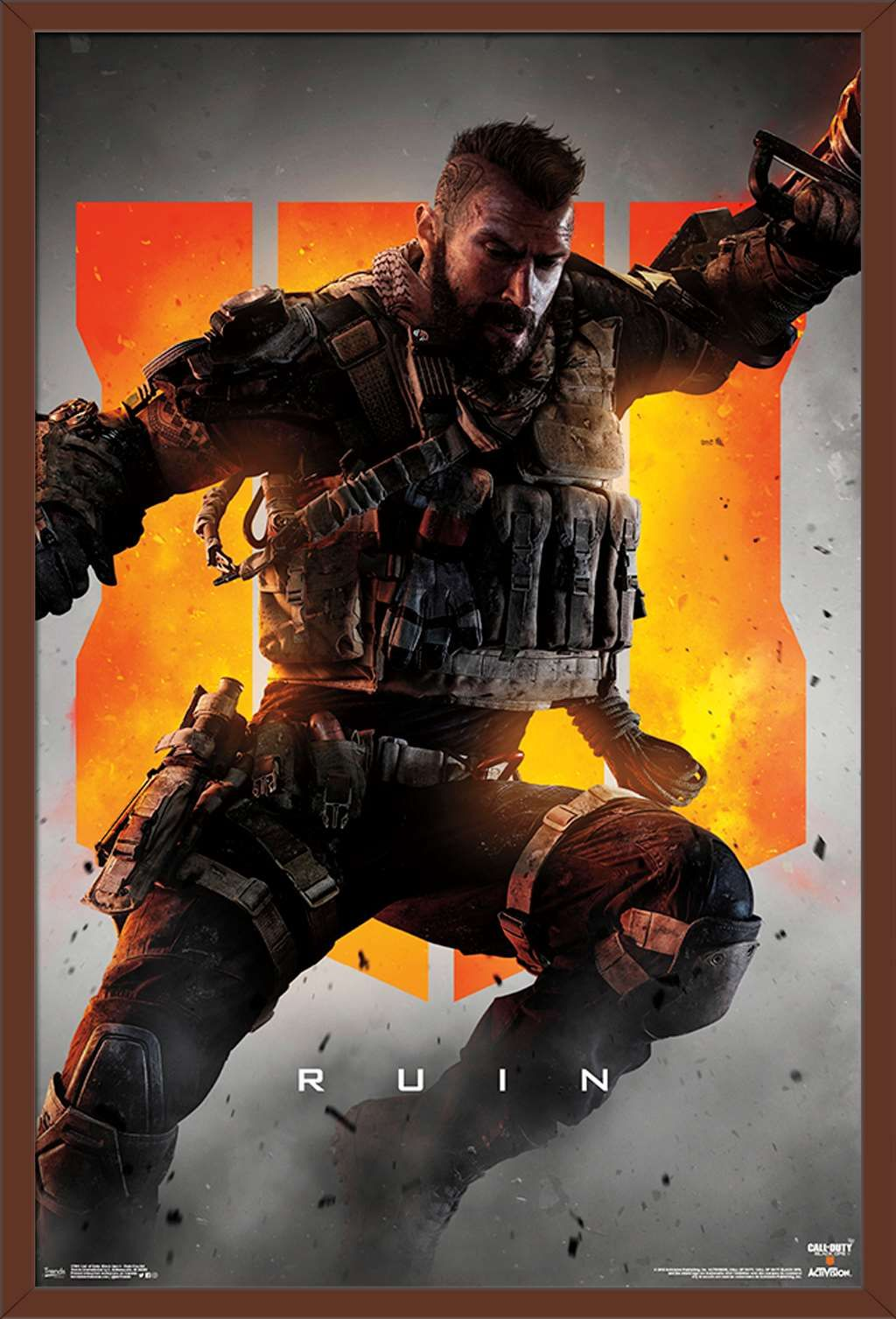 Call Of Duty Black Ops 4 Ruin Key Art Poster Walmart Com In 2021 Call Of Duty Call Of Duty Black Black Ops
