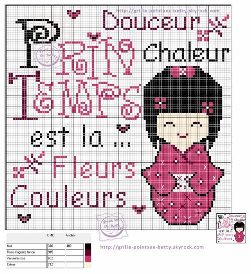 printemps - Point de croix - Blog : http://broderiemimie44.canalblog.com/