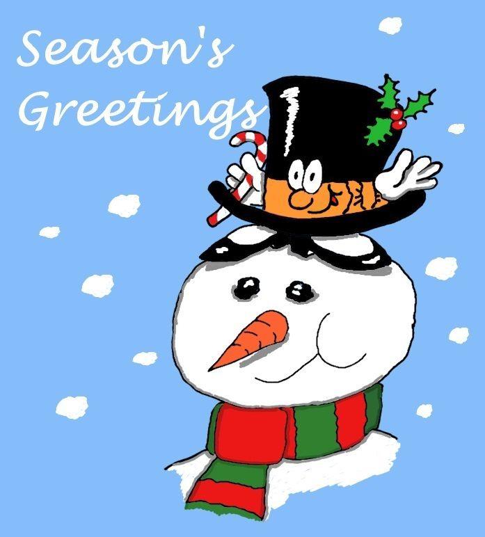 Free printable seasons greetings card to print off and colour in free printable seasons greetings card to print off and colour in mr top hat m4hsunfo