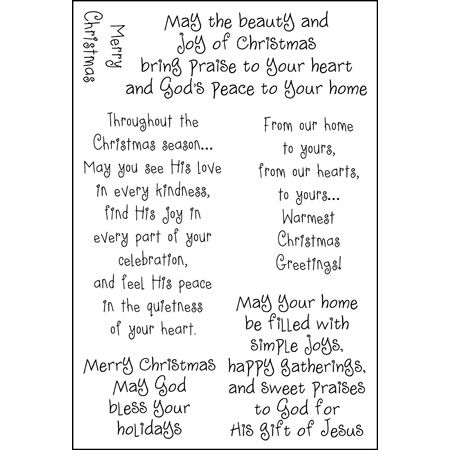 Christian Christmas Greetings Christmas Card Verses