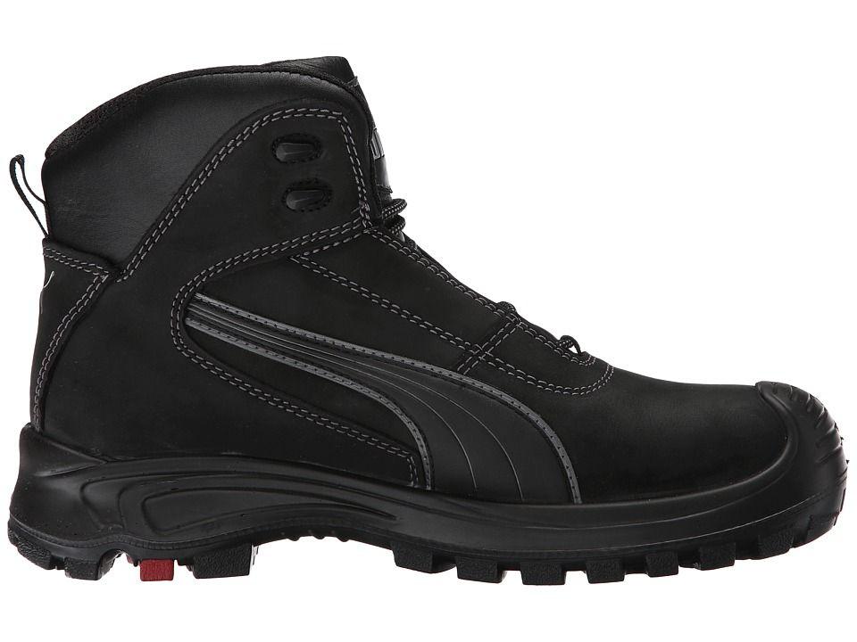 a5d6324e1a4 PUMA Safety Cascades Mid EH Men s Work Boots Black