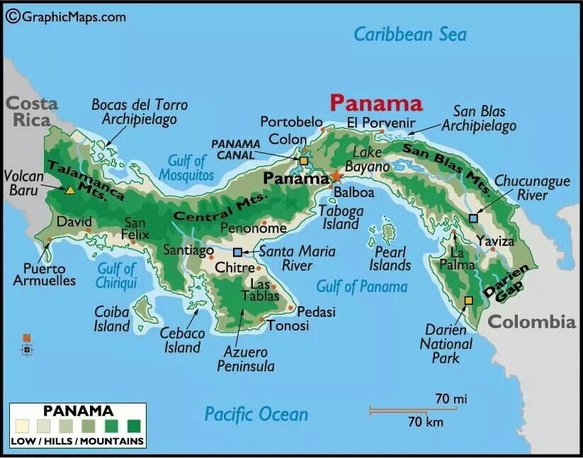 Mi Tierra. ... [Isthmus of Panama. An isthmus is a narrow ...