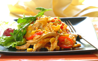 Chicken, Corn and Pepper Lasagne recipe   Poultry recipes   Whats For Dinner