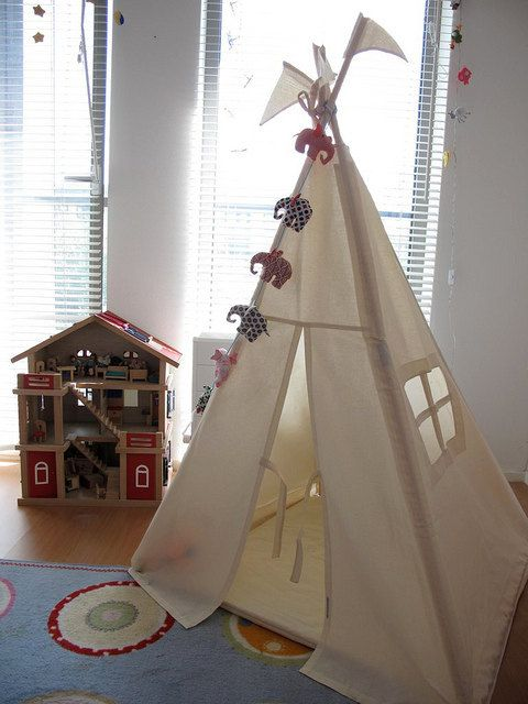 Teepee - plain indoor play tent & Teepee - plain indoor play tent | Indoor play Play teepee and Tents
