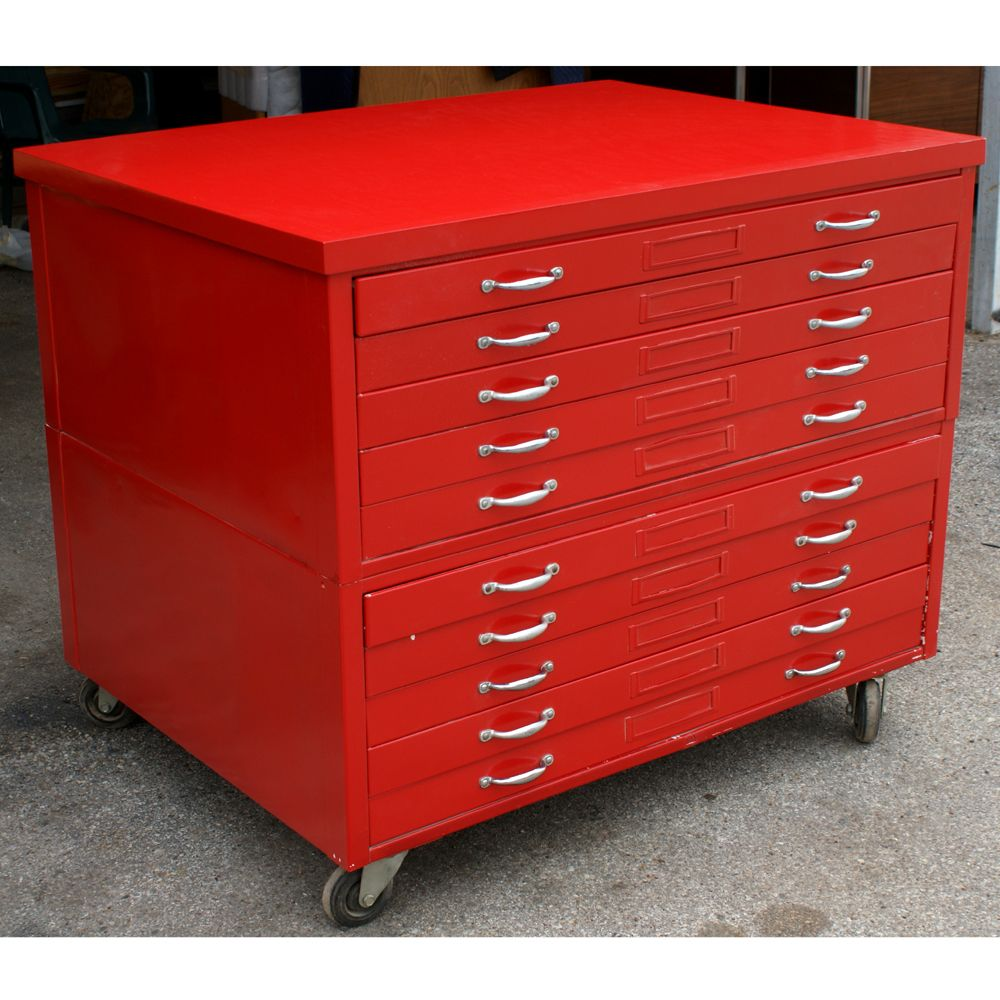 44 Quot Or 53 Quot 1 Architectural Drafting Flat File Cabinet